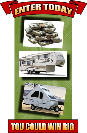 Register & Win Up to $25,000 Towards Any New RV Win A